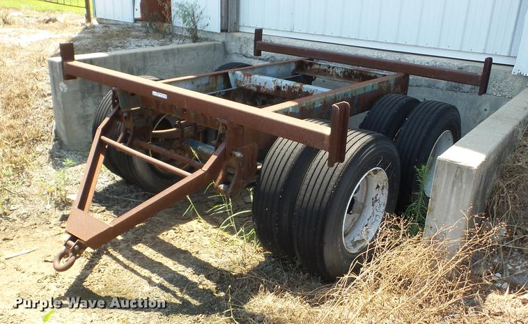 Shop built pipe trailer