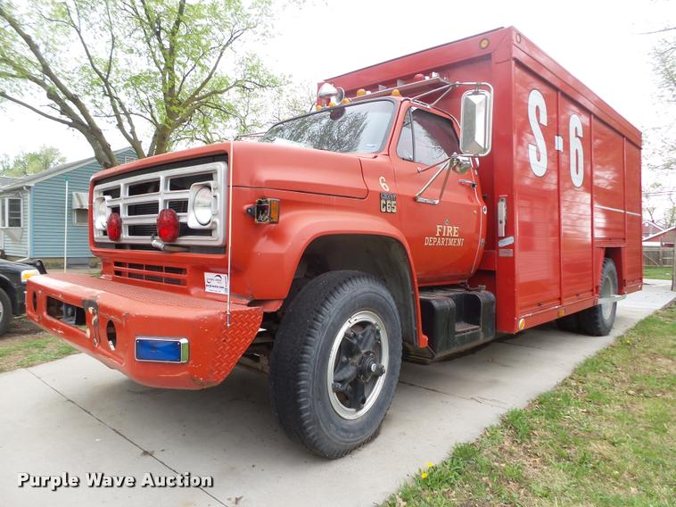 1973 Chevrolet C65 Custom rescue truck