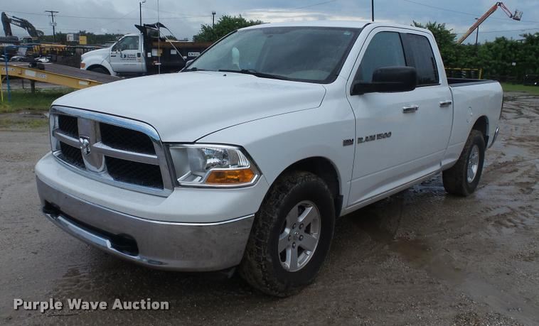2012 Dodge Ram 1500 Quad Cab pickup truck