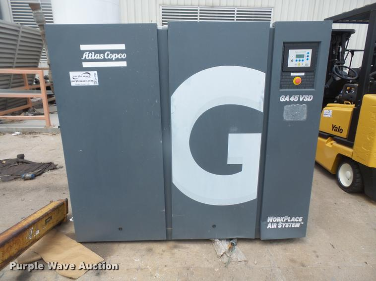 2007 Atlas Copco GA45VSD air compressor