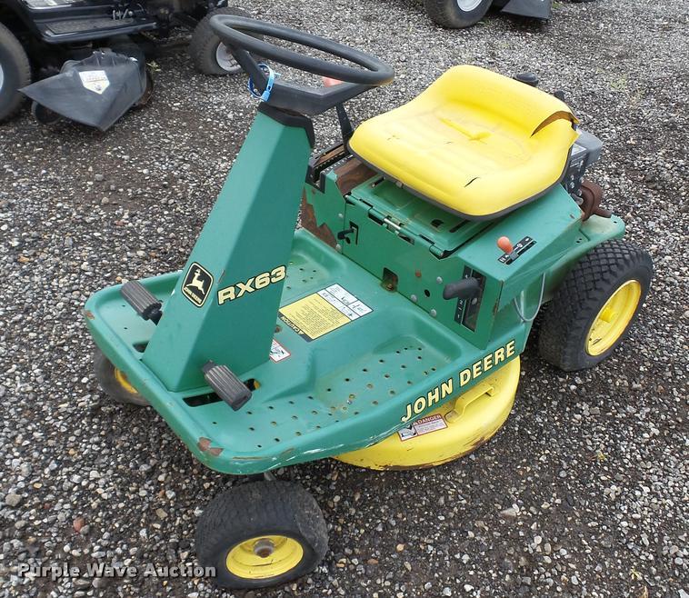 1989 John Deere RX63 lawn mower