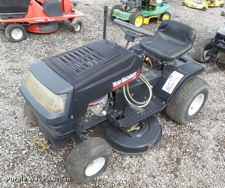 Yard Machines 13AM680F31 lawn mower