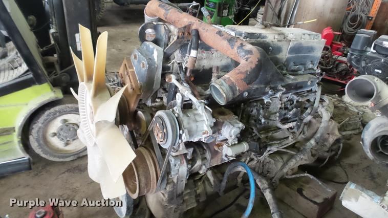 Cummins N14 six cylinder turbo diesel engine