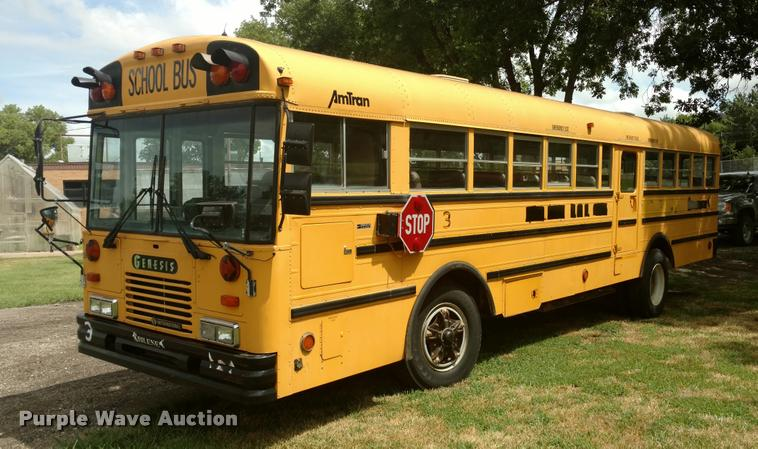 1995 Genesis AM Tran school bus