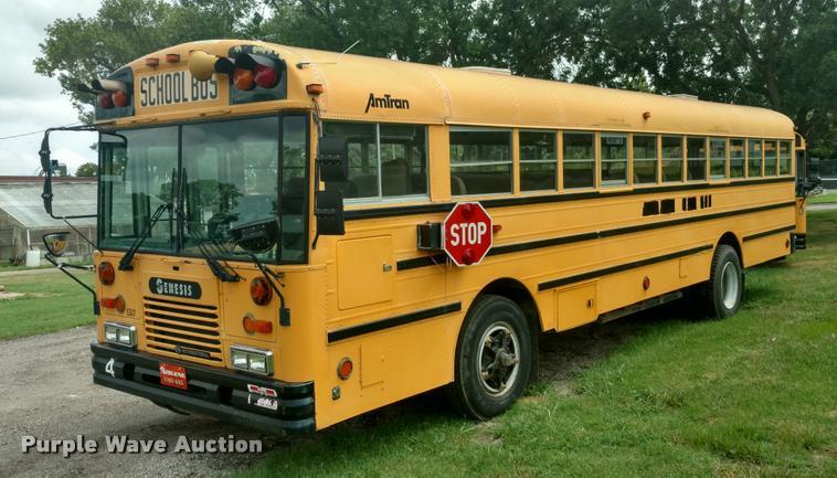1996 Genesis AM Tran schoolbus