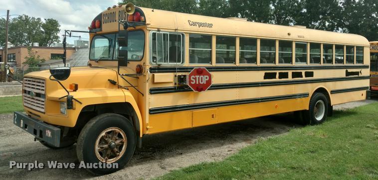 1994 Ford B700 school bus
