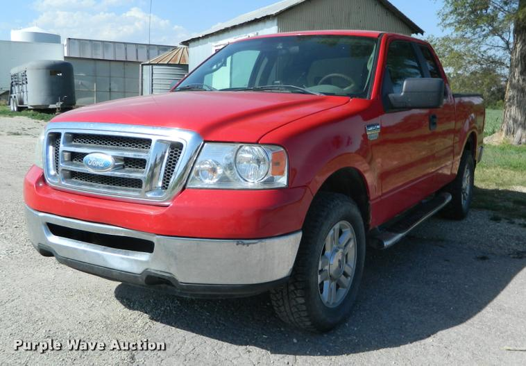 2008 Ford F150 Ext. Cab pickup truck