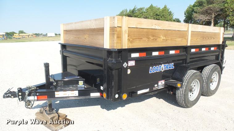2016 Load Trail dump trailer