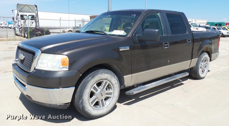 2007 Ford F150 XLT SuperCrew pickup truck