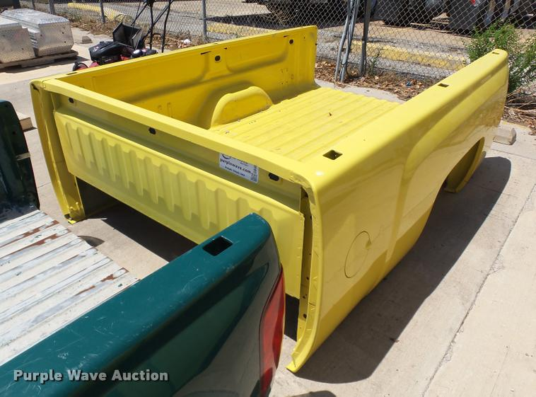 Chevrolet pickup truck bed