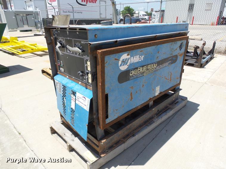 Miller Big Blue 400D CC/DC welder/generator