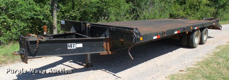 1997 Vanguard equipment trailer
