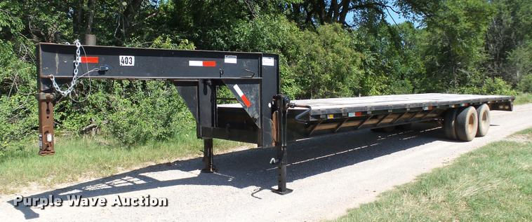 1995 RWS equipment trailer