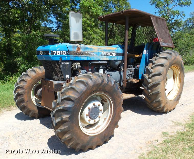 1997 New Holland 7810 MFWD tractor