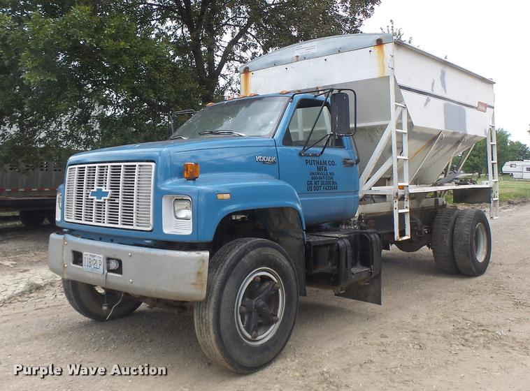 1992 Chevrolet Kodiak feed truck