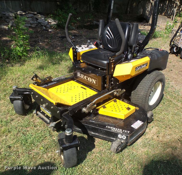 Cub Cadet Commercial Recon ZTR lawn mower