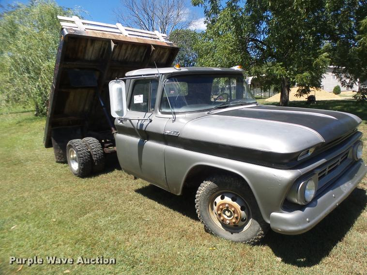 1963 Chevrolet C30 flat dump bed pickup truck