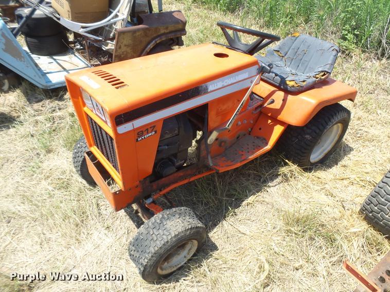 Allis Chalmers 917 Hydro lawn mower