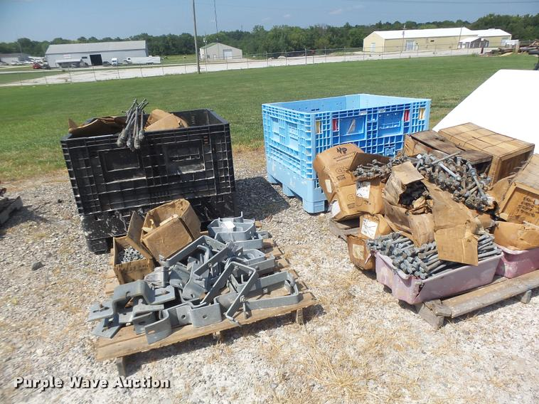 (4) pallets of electrical parts and accessories