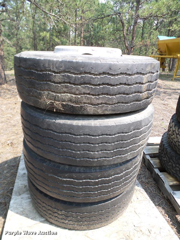 Goodyear 245/70R19.5 tires