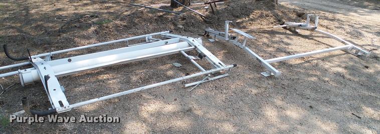 (2) utility racks