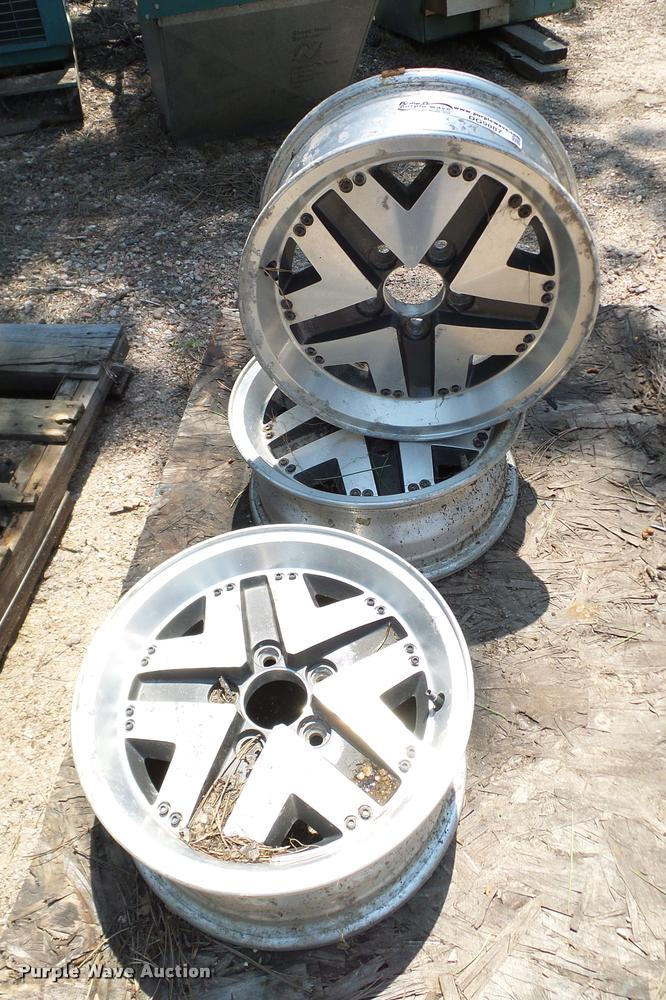 (3) Ford Bronco II wheels