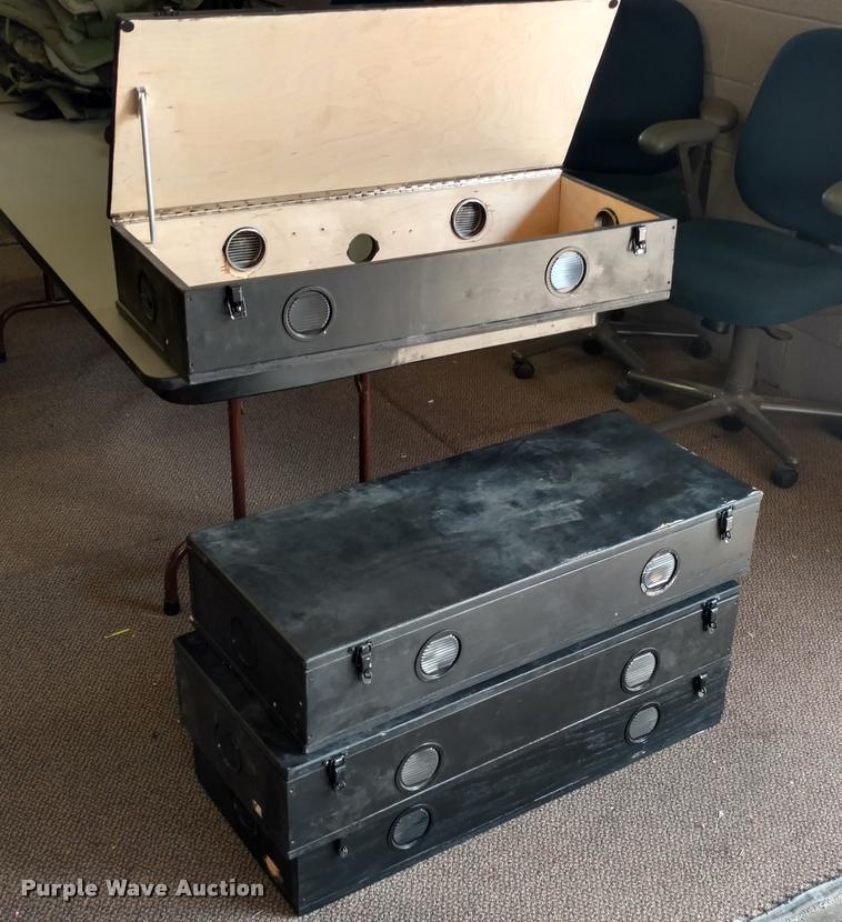 (4) Comms boxes