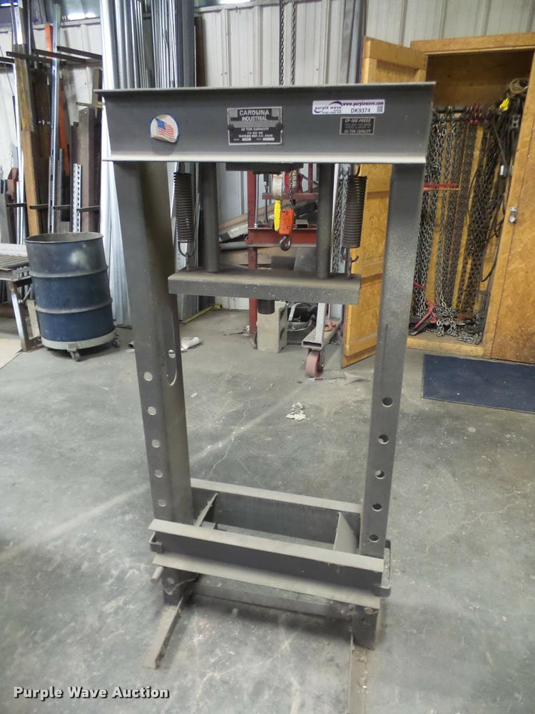 Carolina 30 ton press frame
