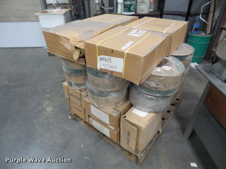 Pallet of strapping