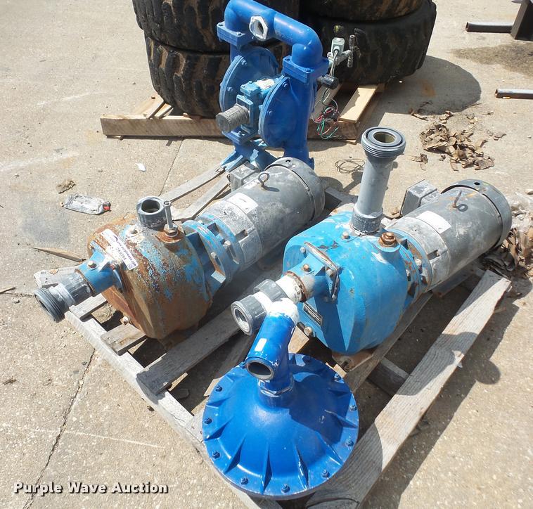 (3) pumps
