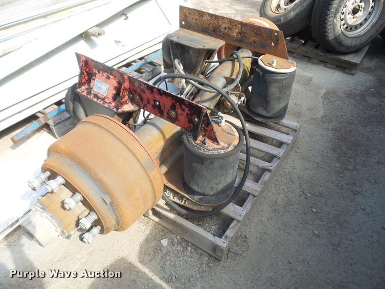 Ridewell tag axle