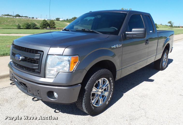 2013 Ford F150 SuperCab pickup truck