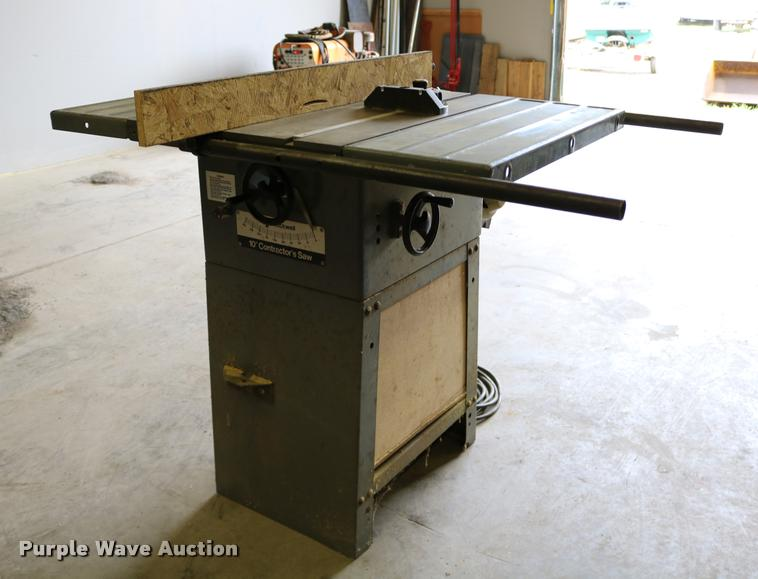 Rockwell International H34-348 table saw