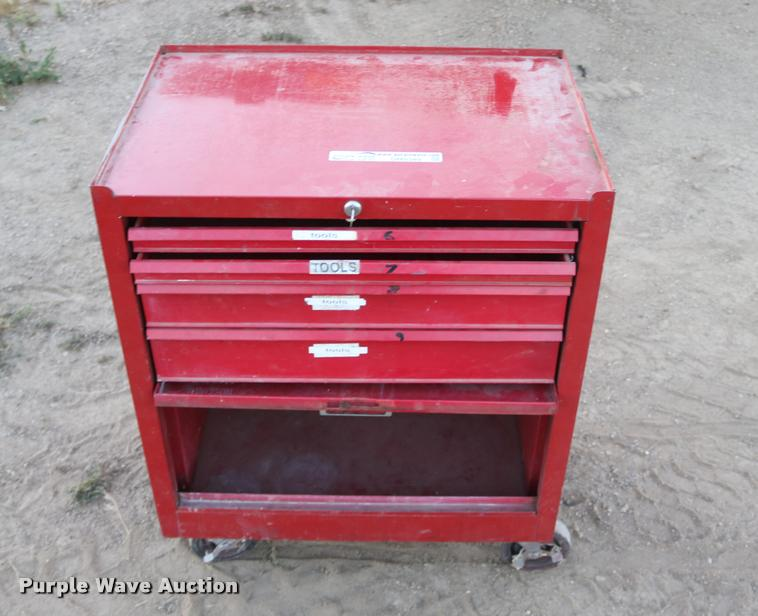 Four drawer tool box