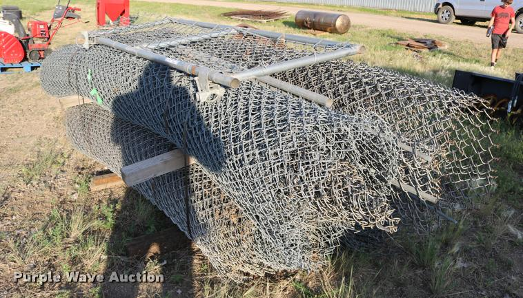 (4) rolls chain link fence