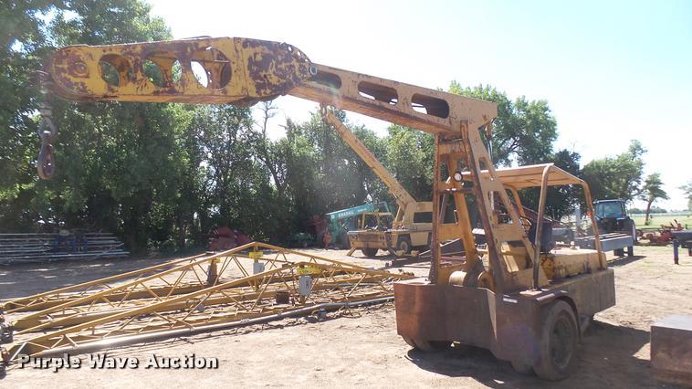 Hyster KE crane