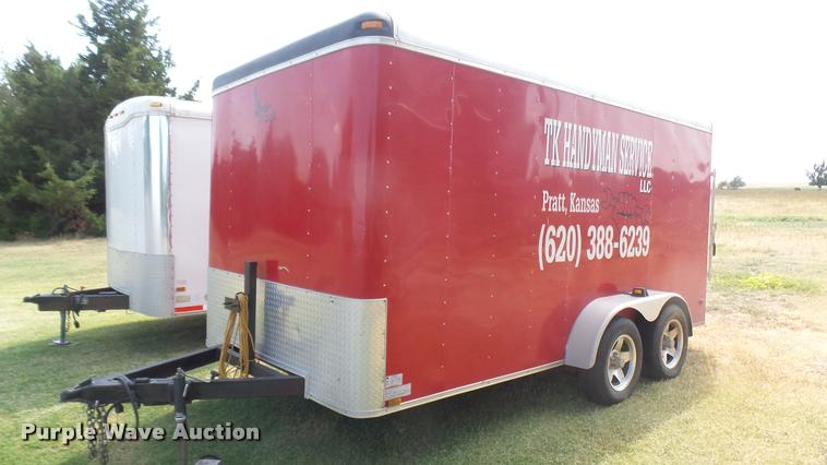 2013 Lark United enclosed cargo trailer