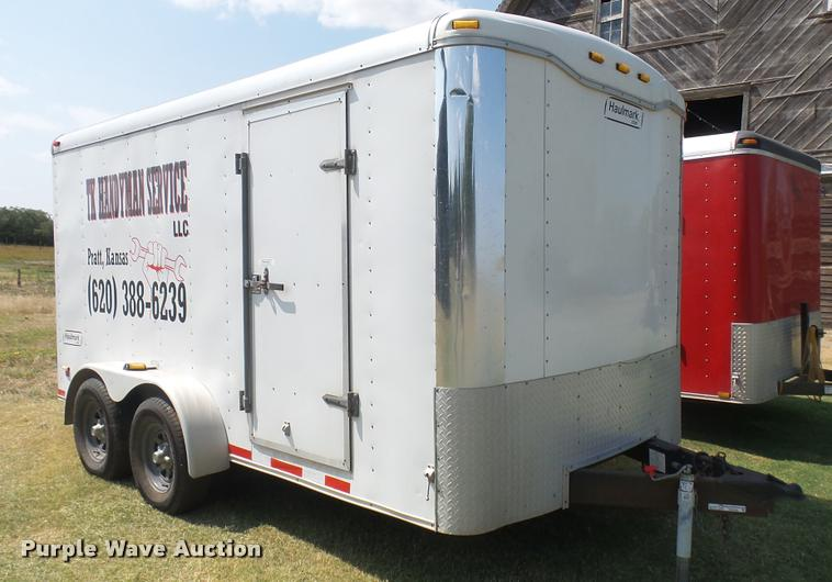 2004 Haul Mark enclosed cargo trailer