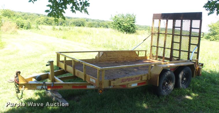 2004 Superline equipment trailer