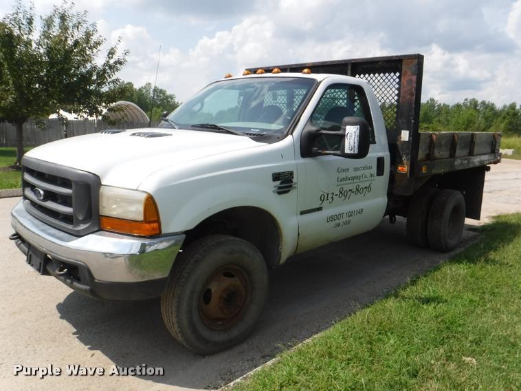 2000 Ford F350 Super Duty XL dump bed pickup truck