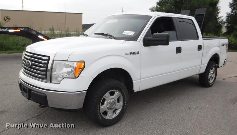 2010 Ford F150 XL SuperCrew pickup truck