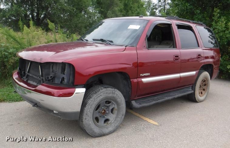 2003 GMC Yukon SLT SUV