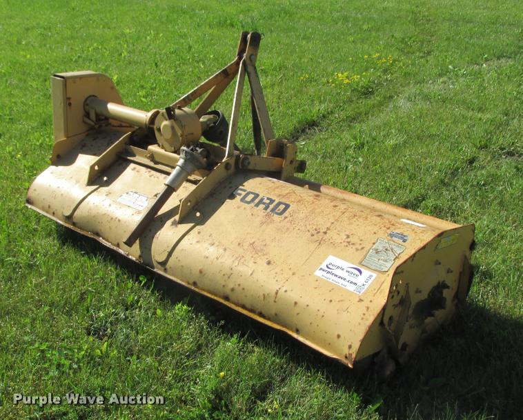 Ford 917H flail mower