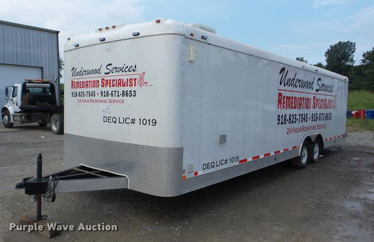 2008 Interstate L10228TA3 enclosed cargo trailer