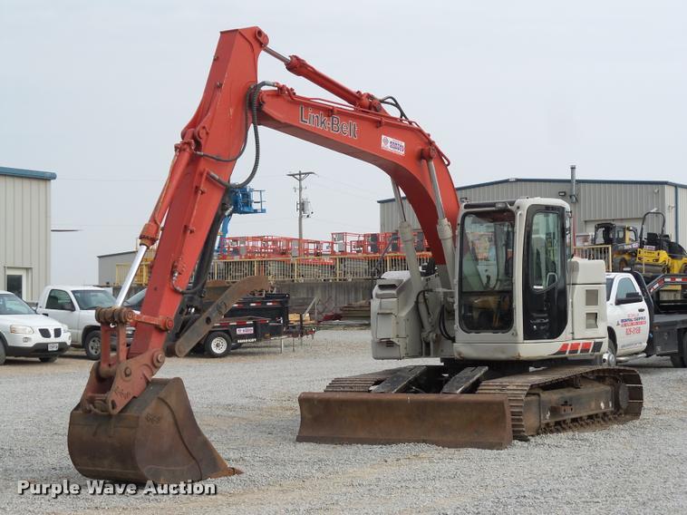 2011 Link-Belt 135 excavator