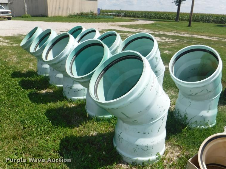 (10) DR35 sewer pipes