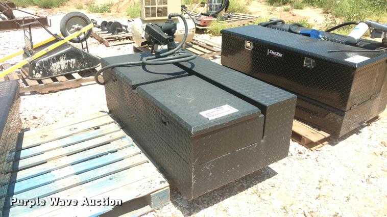 Steel fuel tank/toolbox