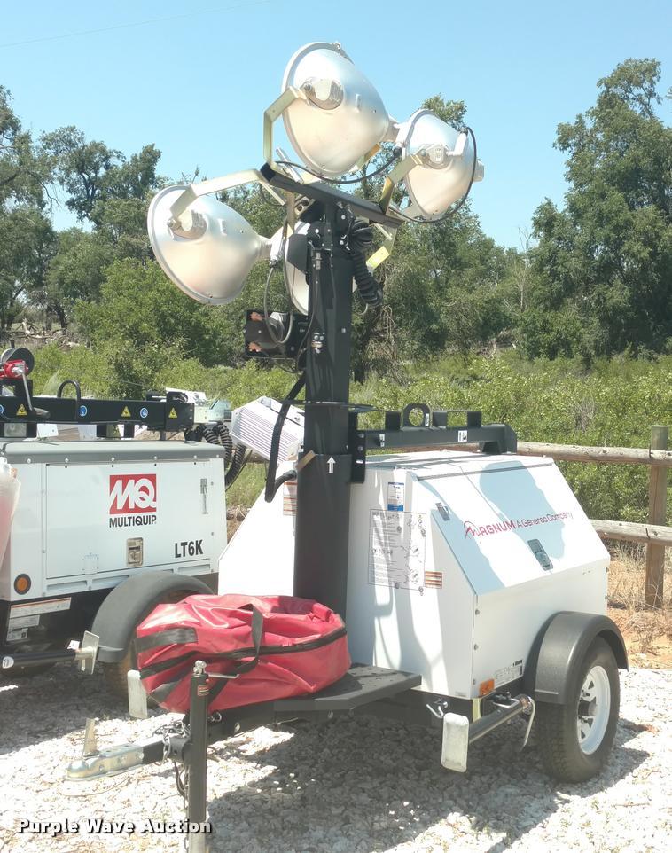 2015 Magnum MLT4080 KV-01 light plant