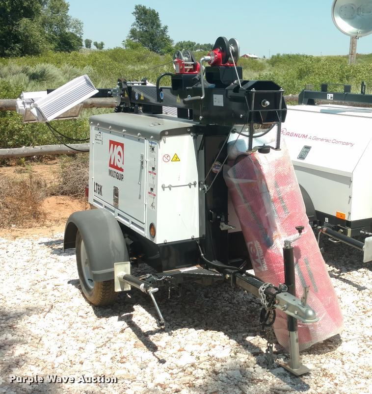 2014 Multiquip LT6K light plant