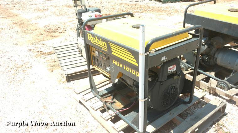 Robin RGV12100 generator